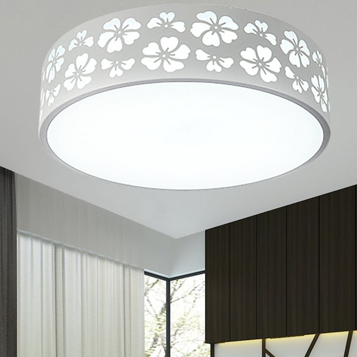 Simple Round LED Ceiling Light bedroom lamp children room LED small dome light circular remote control bedroom light ZA #Affiliate