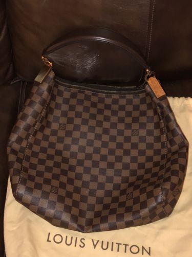 Used Louis Vuitton Purses >> Details About Authentic Louis Vuitton Ravello Pm Damier