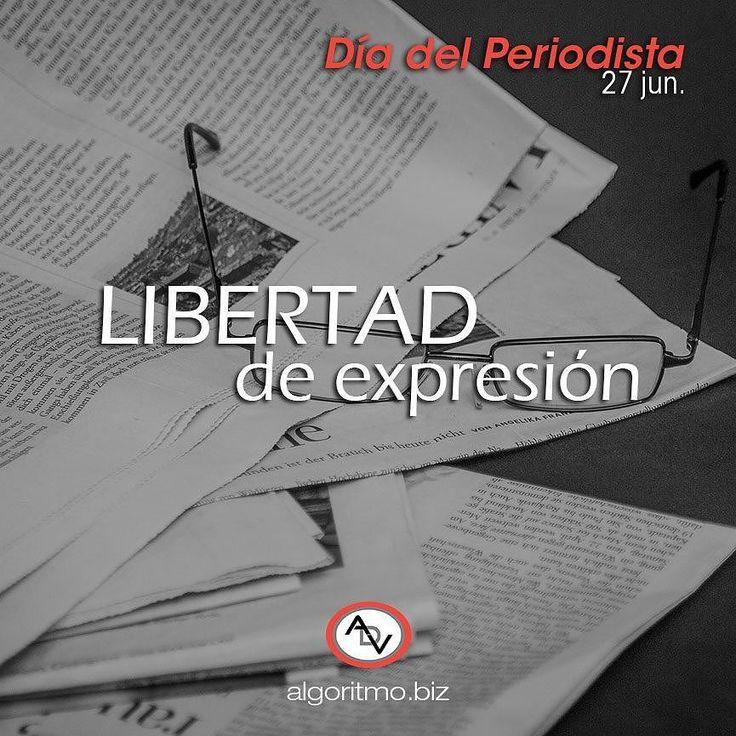 #27jun #DiaDelPeriodista Felicitaciones por su compromiso y vocación para brindarnos información oportuna y veraz.  #periodismo #libertaddeexpresion  #feeedomofspeech #Venezuela