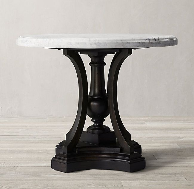 St James Marble Round Entry Table In 2020 Round Entry Table Round Foyer Table Foyer Table