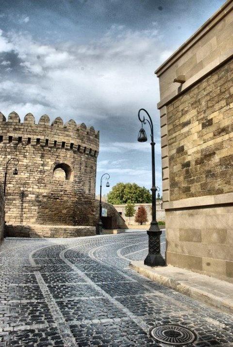 Baku.Old City.