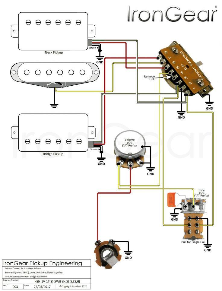 Fender 5 Way Switch Diagram, Dragonfire Active Pickup Wiring Diagram