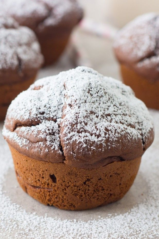Craving chocolate try these simple healthy cacao muffins