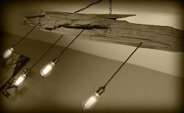 Driftwood Light Pendant Fixture