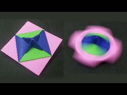 399 Origami 종이접기 ( 딱지 팽이) 색종이접기 折纸 оригами 摺紙 折り紙 اوريغامي