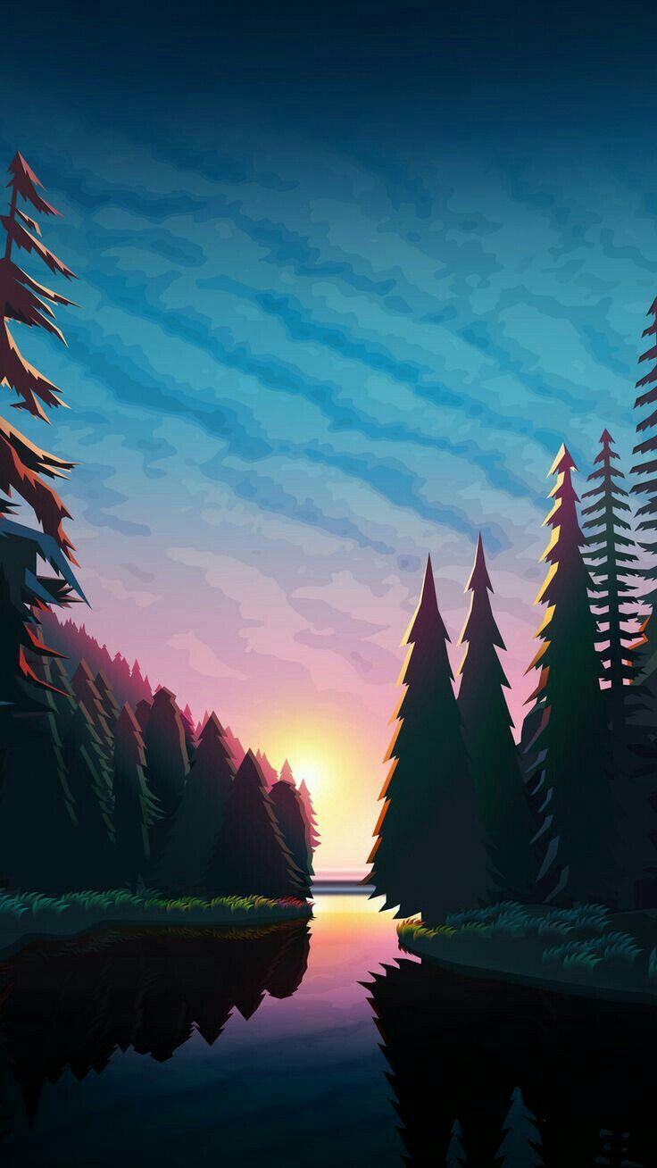 Android Iphone Wallpaper Scenery Wallpaper Nature Wallpaper Art Wallpaper