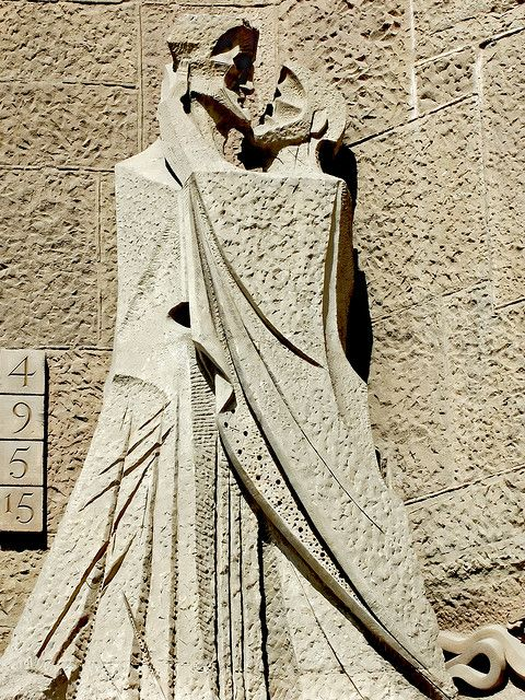 Barcelona , Sagrada Familia sculpture: betrayal by Judas !!!!   Flickr - photo sharing !!!