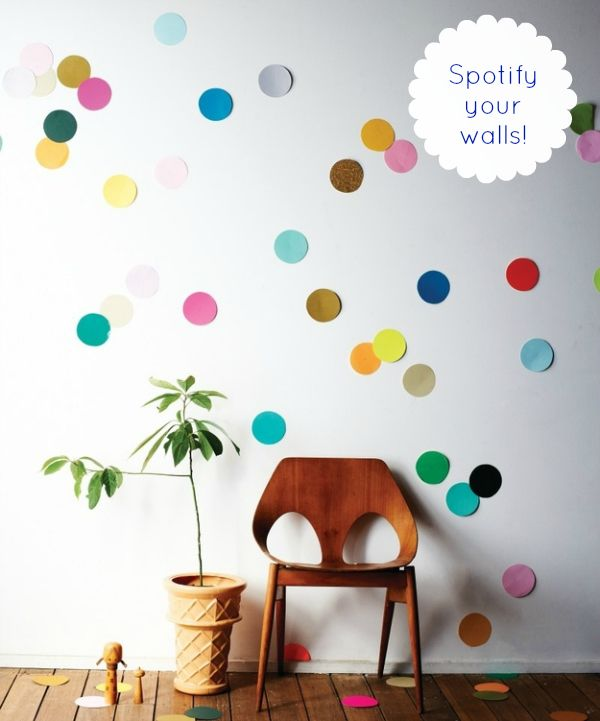 7 Year Wedding :: A Wedding Blog Full Of Easy Ideas For a Beautiful Wedding, Home and Life!: DIY Giant Confetti Wall