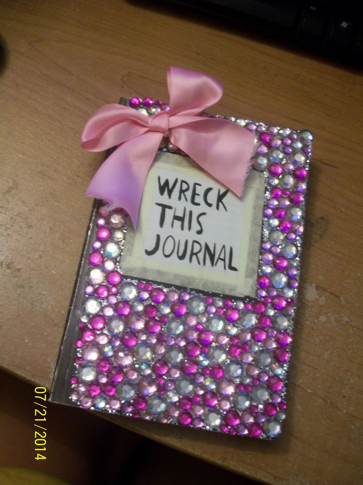 my wreck this journal cover. took a long time, but tottaly worth it! #wreckthisjournal