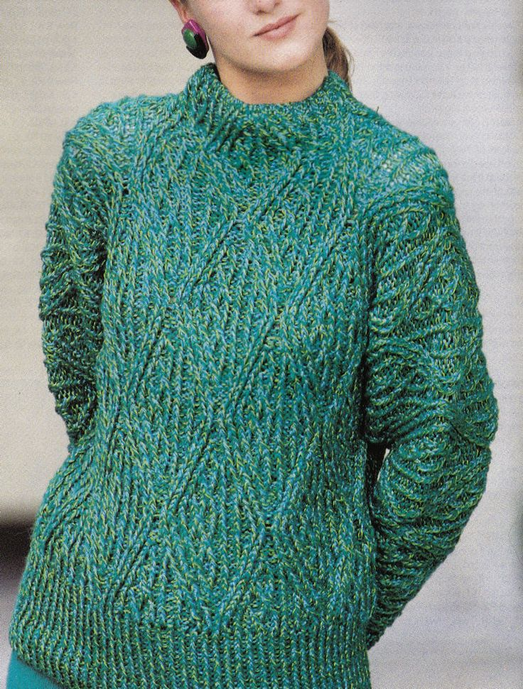 Chunky Knitting Patterns : Best images about chunky wool vintage knitting patterns