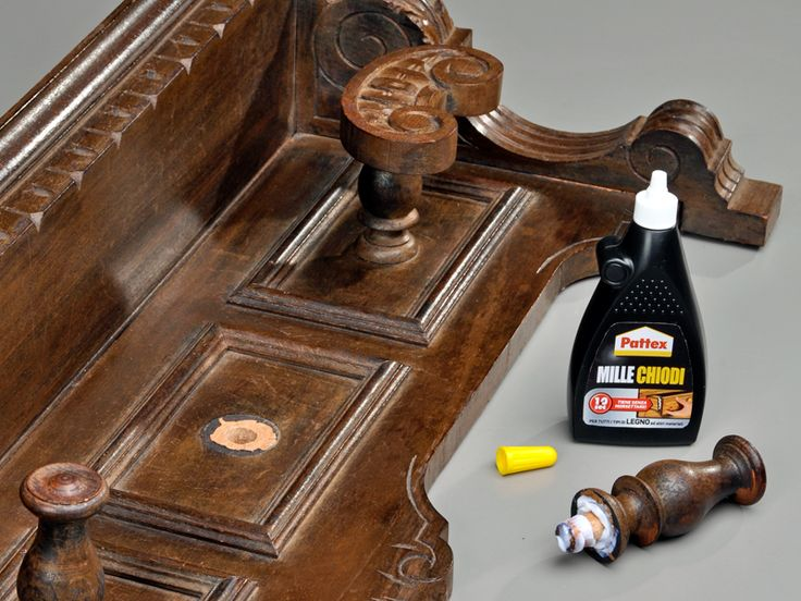 Millechiodi Pattex, ideale per assemblaggi su legno, indispensabile per il bricolage