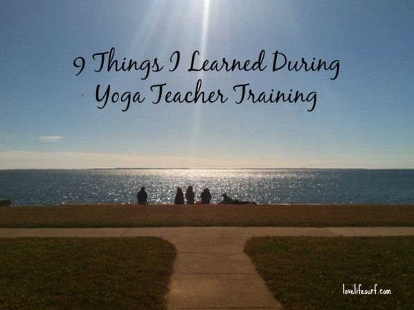 9 Lessons from Yoga Teacher Training