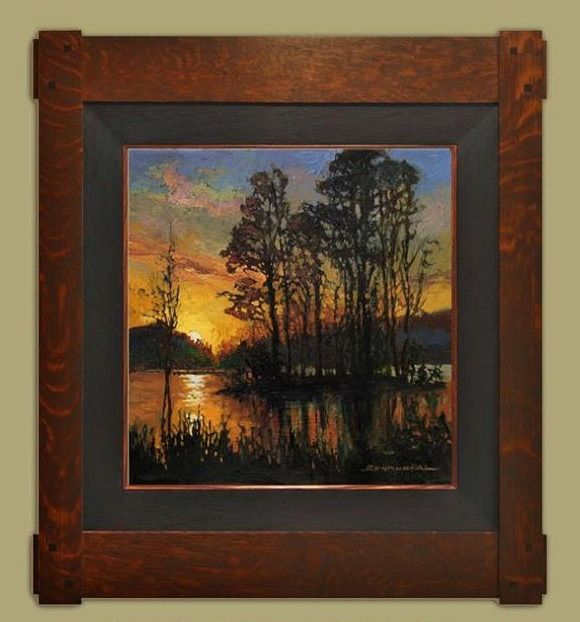178 best home decor arts crafts images on pinterest for Bungalow style picture frames