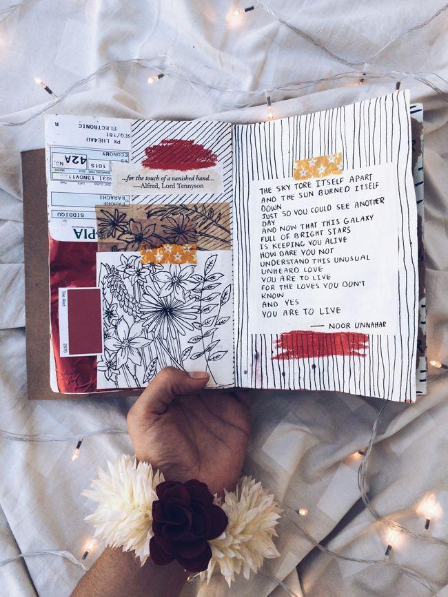 Kunstzeitschrift + Poesie zur Suizidprävention von Noor Unnahar (ästhetisch … ,  #asthetisch #kunstzeitschrift #poesie #suizidpravention #unnahar – Marie Hunter