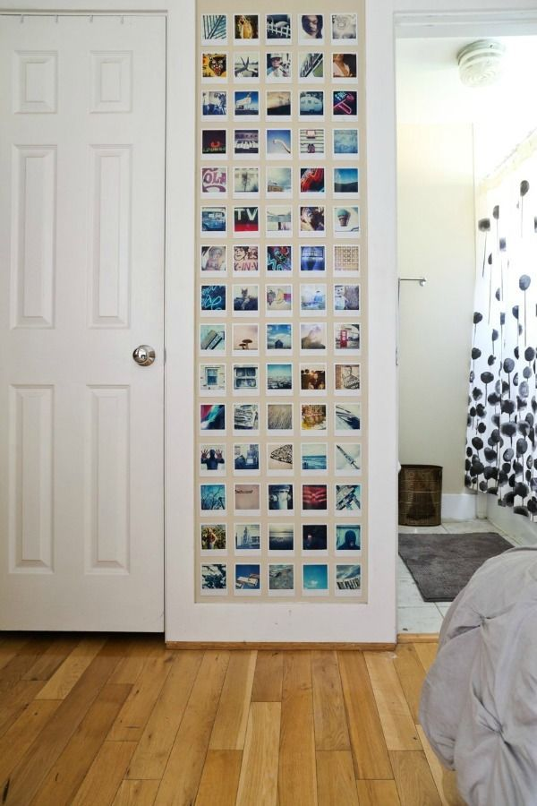 Best 25 Bedroom Photo Walls Ideas On Pinterest Picture Wall Instagram Wall And Dorm Photo Walls