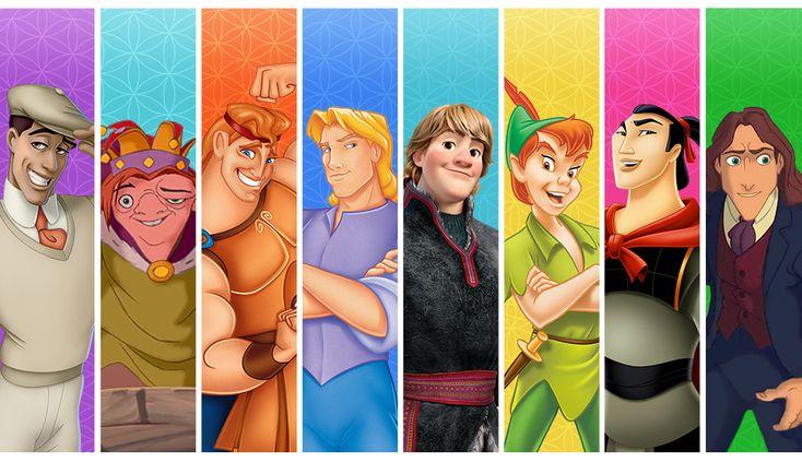 Fantasy Disney Guy Boy Band