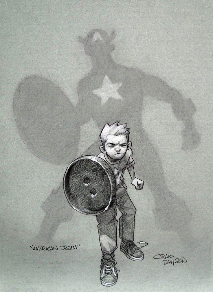 A imaginação das crianças ilustrada por Craig Davison