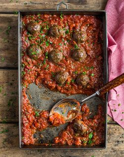 Ostrich Meatballs  Checkers - Better and Better | Recipes