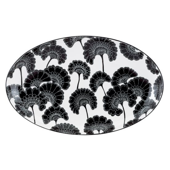 OMG.  OMG.  OMG.  $90 Kate Spade black and white platter.  I need it.  It would look fabulous with my Kate Spade china.  Want!