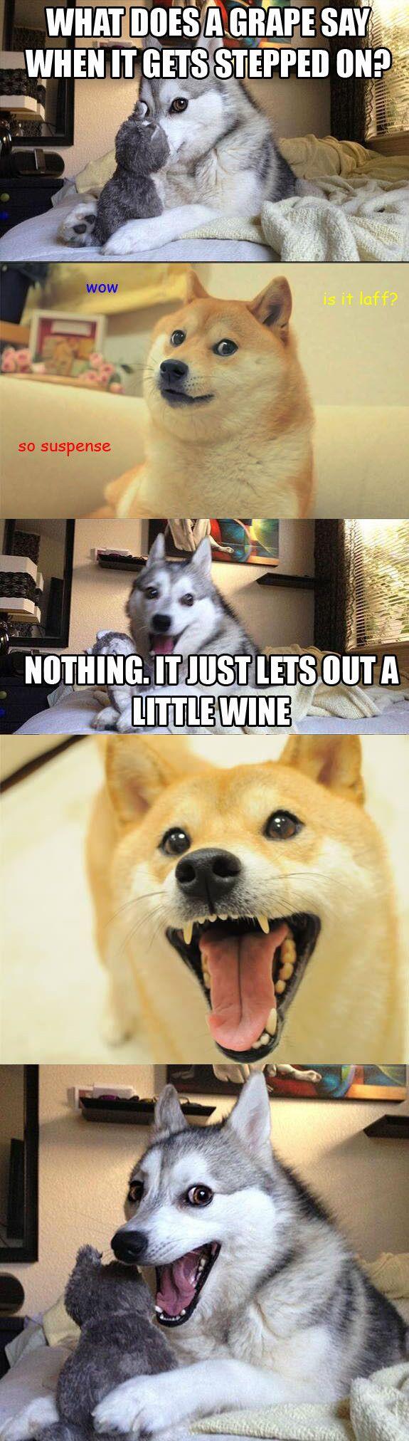 Husky Comedian