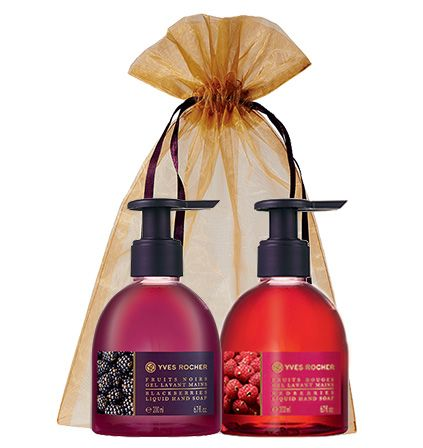 The perfect hostess gift! If you can't choose just one this duo will do the trick! #yvesrocher #beauty #holiday