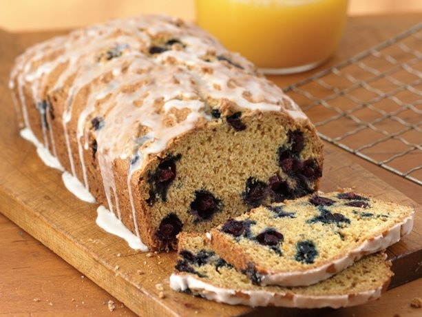 Heart Healthy Blueberry-Orange Bread using Fiber One Cereal- I've made this several times and it is so good... I promise.
