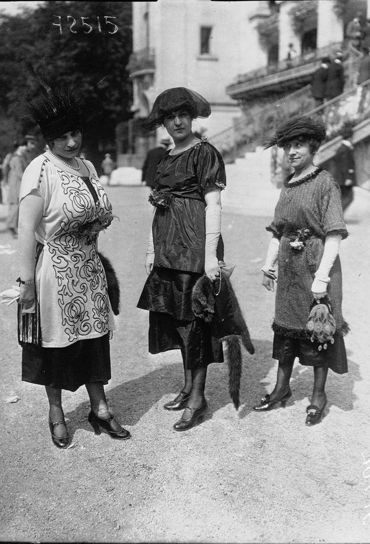 1919. Парижская мода эпохи «испанки»