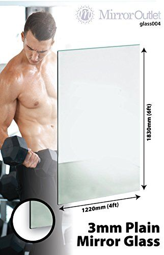 SAFETY BACKED LARGE MIRROR GLASS GYM OR DANCE STUDIO 3MM 6FT X 4FT 183CM X 122CM MirrorOutlet http://www.amazon.co.uk/dp/B00KHR0Z6K/ref=cm_sw_r_pi_dp_Cb52vb0E75PV7