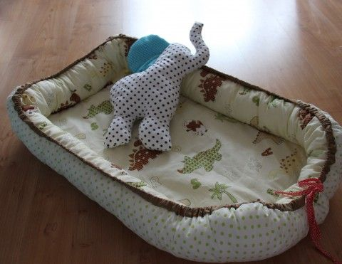 Hnízdečko, hnízdo pro miminko miminko miminka bavlna bavlněná