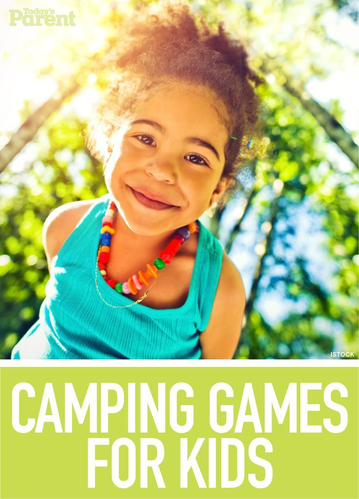 7 Cool Camping Games For Kids