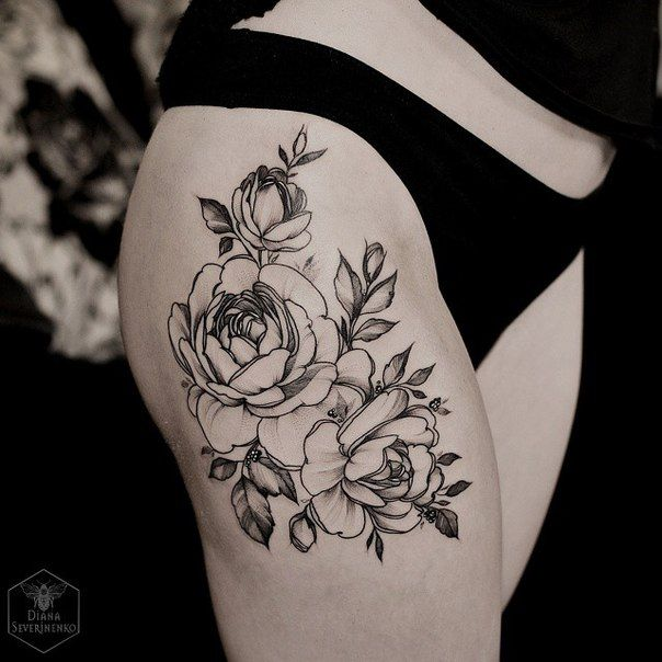Love this! Beautiful roses and flow!