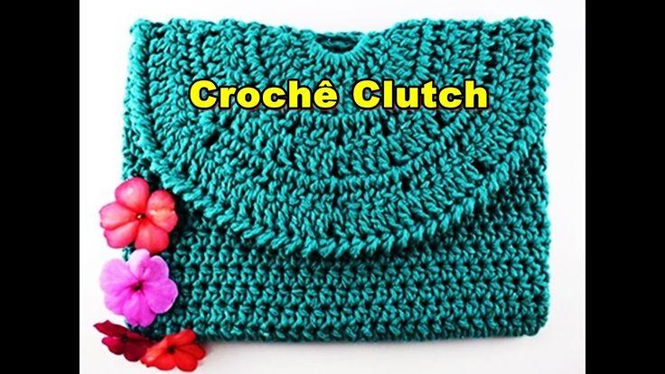 Como fazer bolsa de croche | Bolsa de Mão | Clutch Euroroma | Parte 2
