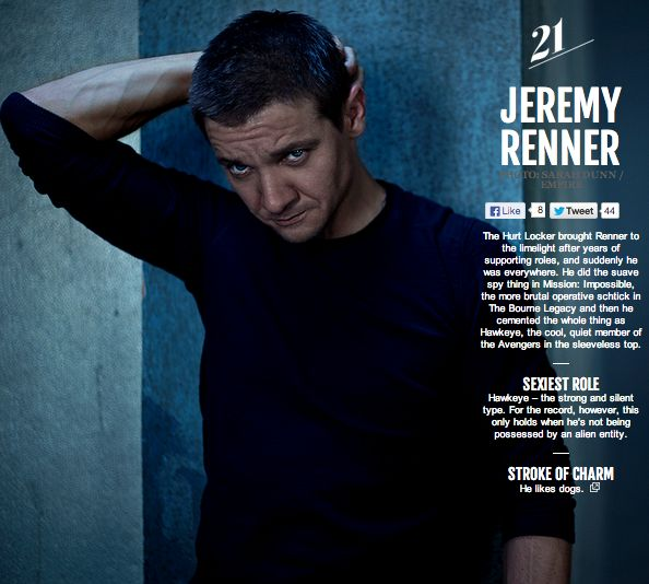 Jeremy Renner Interview - Avengers: Age of Ultron (2015) Hawkeye Marvel Movie | Jerry's Hollywoodland Amusement And Trailer Park