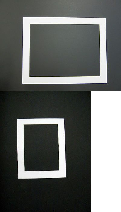 Framing Mats 37576 Picture Framing Mats 11x14 For 9x12 Photo White