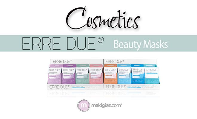 Erre Due takes the second step to facial care with wonderful Beauty Masks.  English Article http://makigiaz.com/blog/erre-due-beauty-masks-en/  Greek Article http://makigiaz.com/blog/erre-due-beauty-masks/