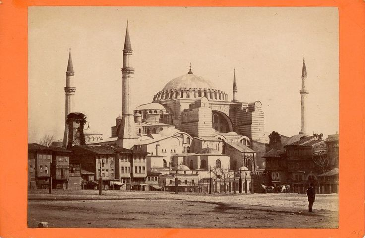Abdullah Frères Turquie Constantinople Eglise Sainte Sophie Vintage Albumen | eBay