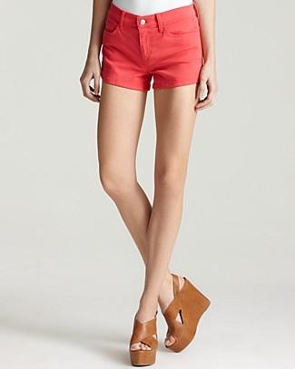 Bright Denim Shorts #spaweeksummer