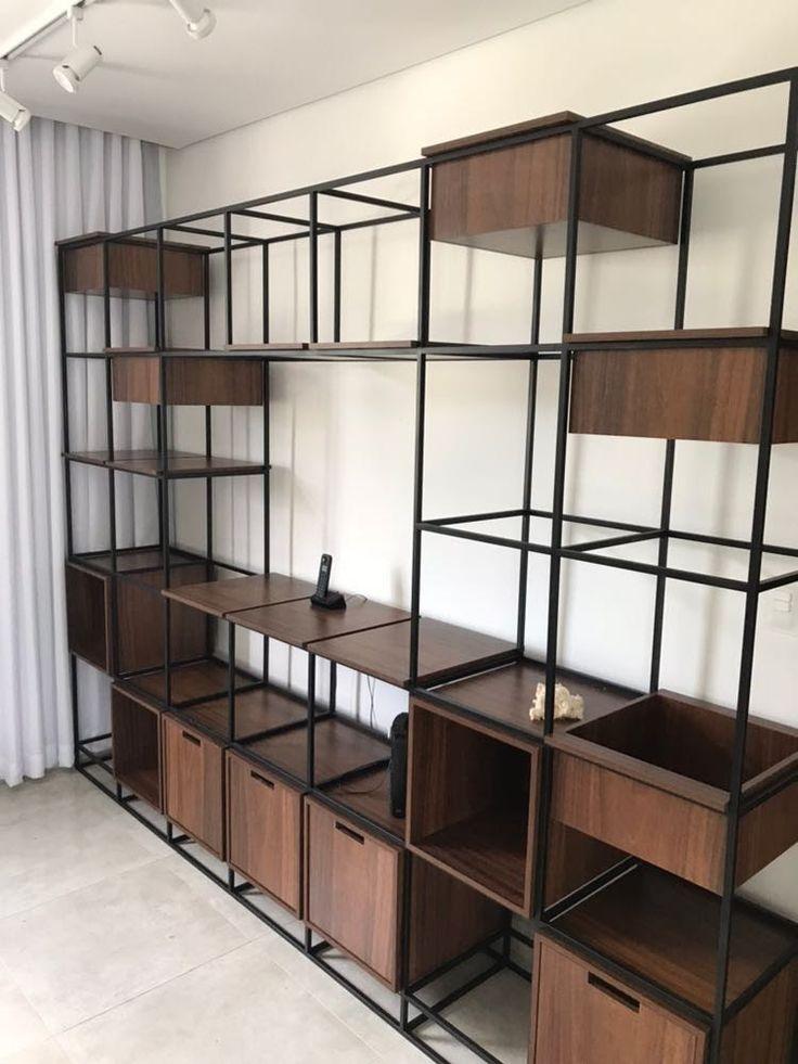 The 25 best estante modular ideas on pinterest - Estantes de metal ...