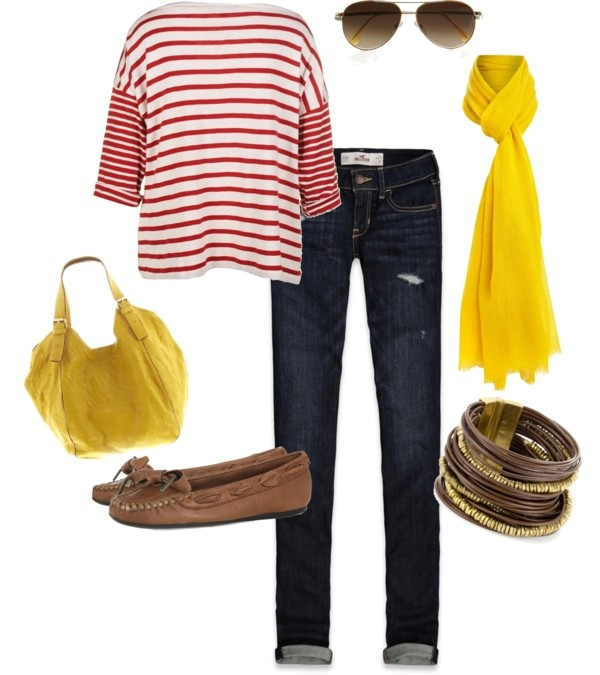 """""""Kansas City Chiefs game day look"""" by lcinkc on Polyvore"""