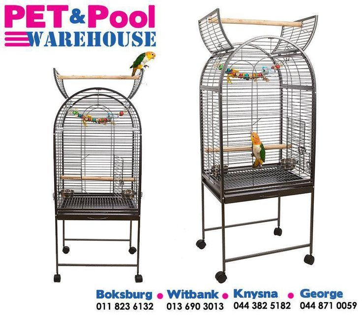 Remember that Pet & Pool Warehouse sells a vast range of birdcages in all shapes and sizes. #PetPool #petaccessories #welovepets