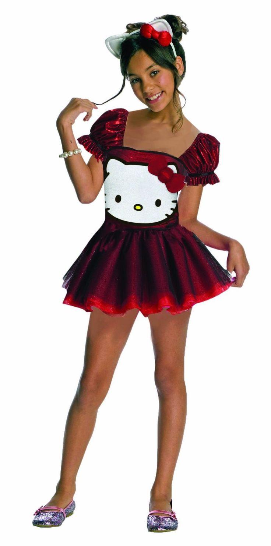 hello kitty sequin hello kitty dress child costume - Halloween Hello Kitty Costume