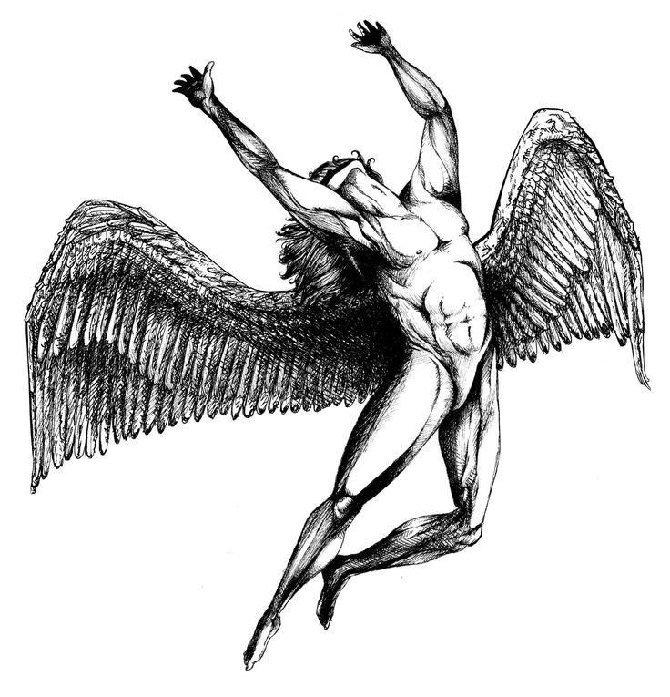IDAP of Icarus, based on Led Zeppelin's Swan Song logo. - Imgur