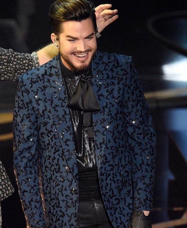 Oscar 2019 Adam Lambert Singer Adams