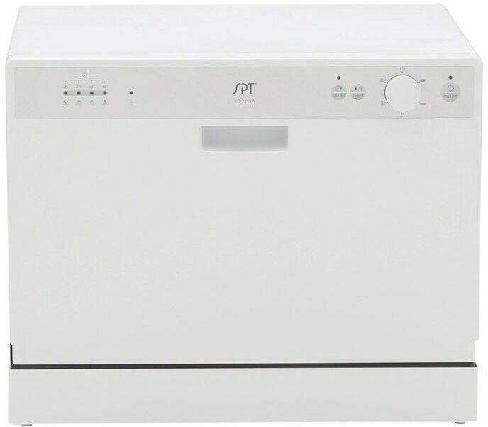 Ebay Sponsored Spt Countertop Dishwasher In White With 6 Wash