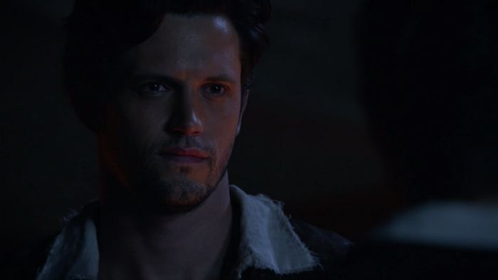 """Jack is a character on ABC's Once Upon a Time. He débuts, with his only appearance, in the eighth episode of the seventh season. He is portrayed by guest star Nathan Parsons, and is the original counterpart of Nick Branson. Jack is based on the character of the same name from the folktale """"Jack and the Beanstalk"""" and the fairy tale and legend """"Jack the Giant Killer""""."""