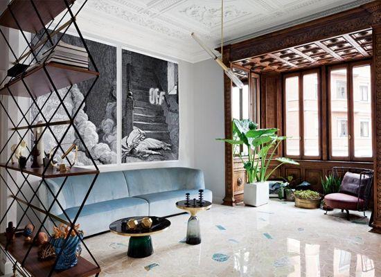 Milano Art Nouveau Apartment   Styles   Share Design   Home, Interior Design, Architecture, Design Ideas & Design Inspiration Blog