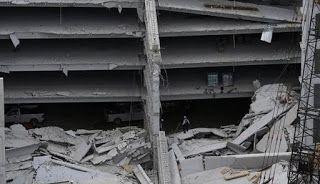Τραγωδία σε υπό ανέγερση πάρκινγκ στο Μεξικό