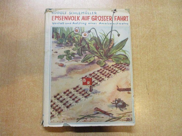 Nice Emsenvolk auf grosser Fahrt Verfall und Aufstieg Ameisen Buch Schlem ller eBay