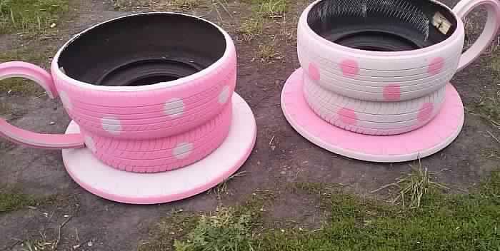 Ne jetez plus vos vieux pneus voici 20 bonnes id es pour for Pneu use exterieur