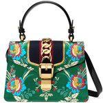 Gucci Sylvie Floral Jacquard Mini Bag